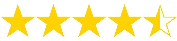 4 estrellas y media
