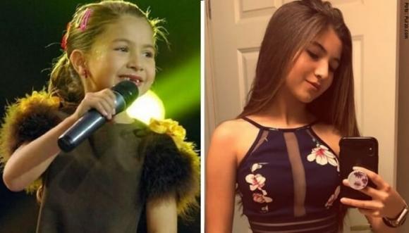 El cambio físico de Shaira a sus 15 años