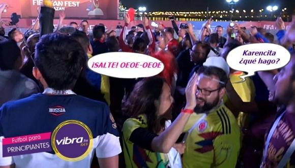 Así celebró Toño la victoria de Colombia contra Polonia