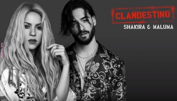 Escucha Clandestino, la nueva canción de Shakira y Maluma