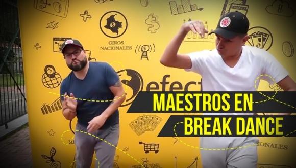 Mira a los Retrotubers al ritmo del Break Dance