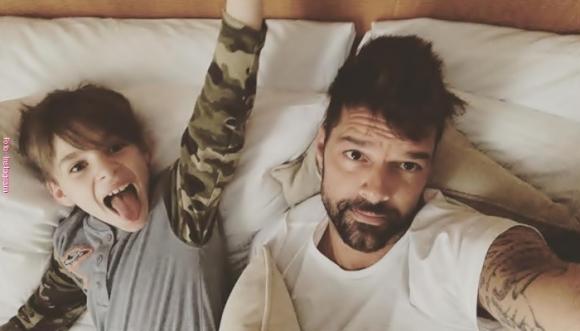 A Ricky Martin le dan palo por confesar un deseo