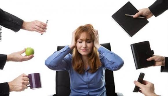 ¿Sufres de estrés laboral?
