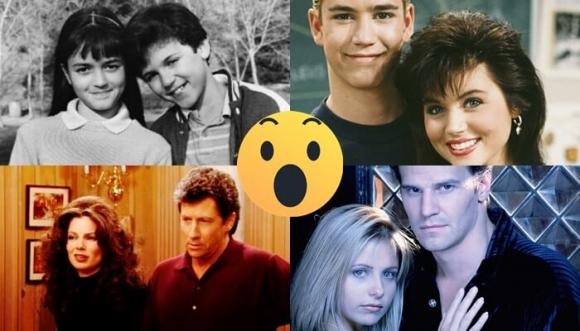 Antes y después de las parejas inolvidables de la TV
