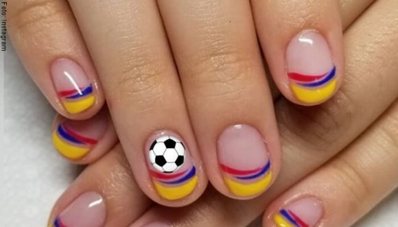 #Tutorial: Manicure de la Selección Colombia en un 2x3