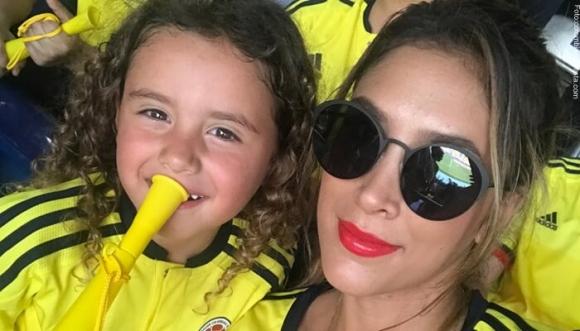 ¿Qué tal lo que hizo Daniela Ospina con su hija?