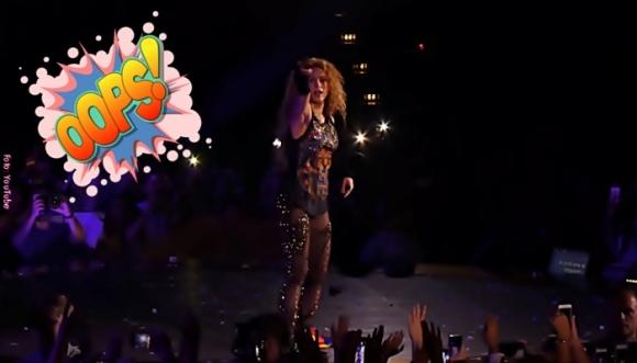 Acusan a Shakira de hacer playback en El Dorado World Tour