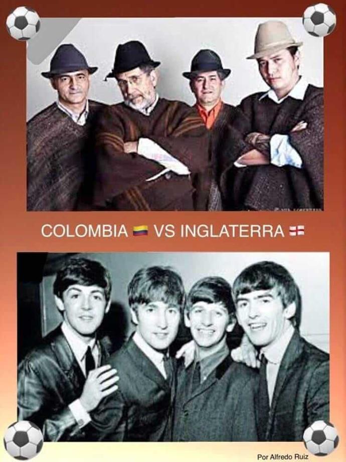 Memes Inglaterra Vs Colombia 07