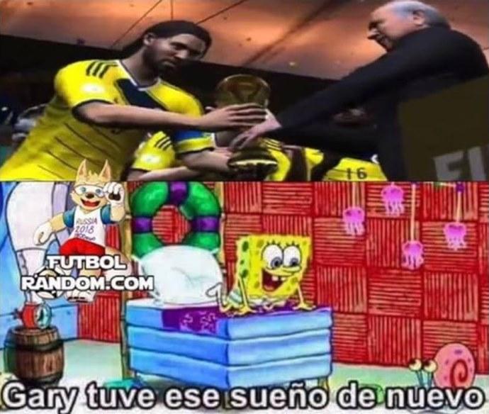 Memes Inglaterra Vs Colombia 09