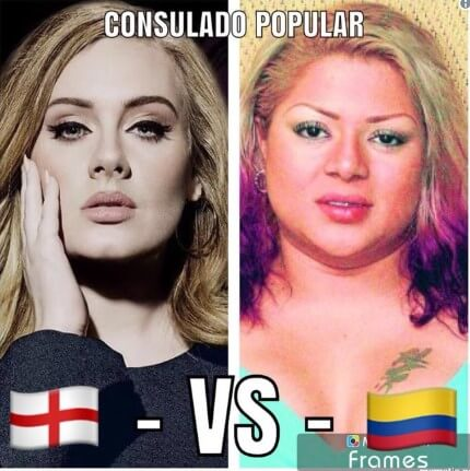 Memes Inglaterra Vs Colombia 12