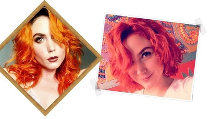 Antes y después de la actriz Carolina López