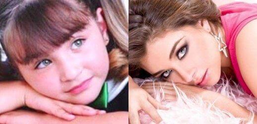 Antes y después de Luz Clarita