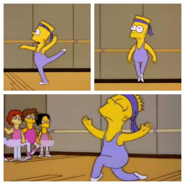 BalletBartSimpson