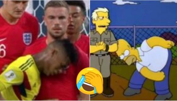 Mejores memes de Colombia vs. Inglaterra en el Mundial