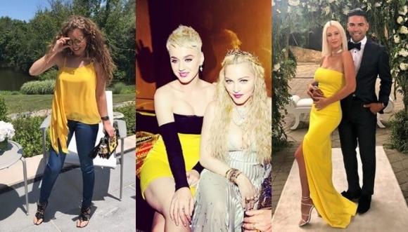 11 famosas nos enseñan a vestir de amarillo