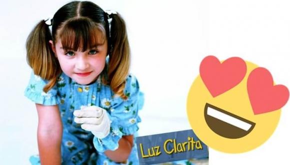 Luz Clarita se creció y hoy luce así...
