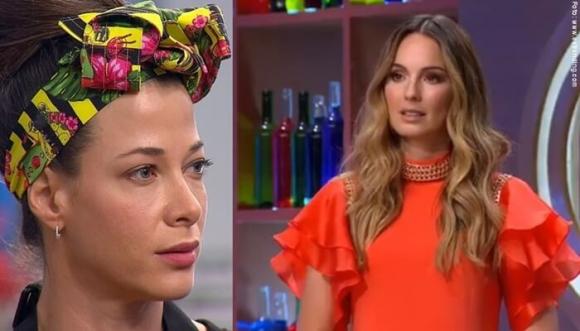 La pelea entre Claudia Bahamón y Estefanía Borge en MasterChef