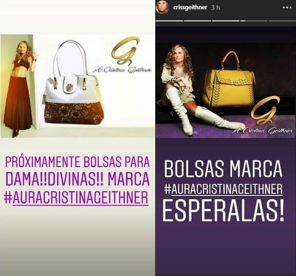 Bolsos de marca Aura Cristina Geithner