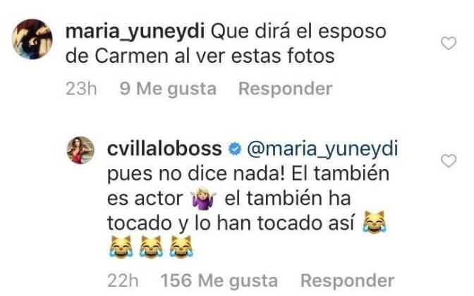 Carmen Villalobos instagram