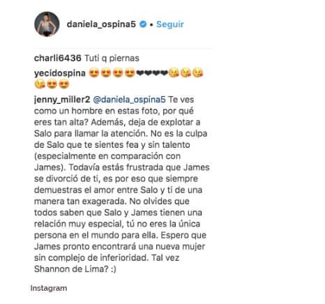 Daniela Ospina hombre
