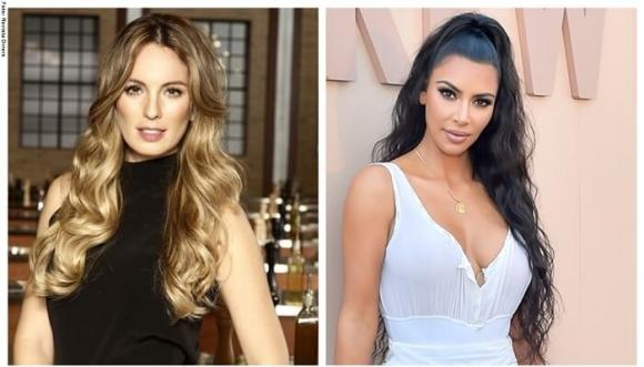 ¿Kim Kardashian estaría imitando a Claudia Bahamón?