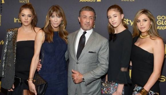 El bikinazo de la hija de Sylvester Stallone que nadie esperó