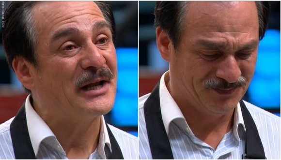 Volvieron hacer llorar a Carlos Hurtado en Masterchef