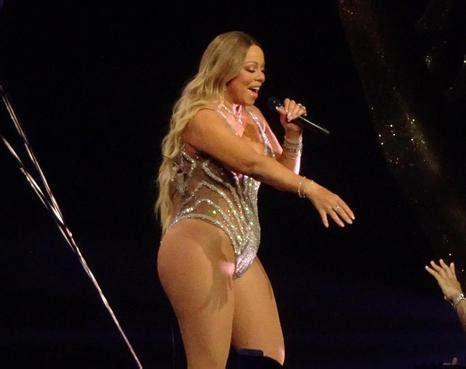 Mariah Carey con soprepeso