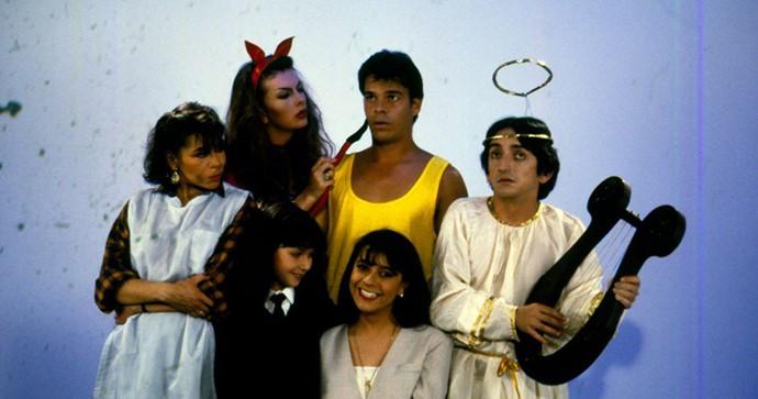 Foto del elenco del programa 'Tentaciones' con Luz Buenona
