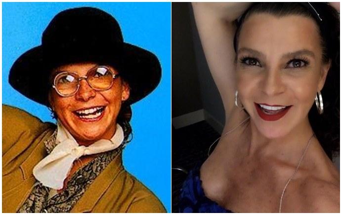 Foto antes y después de la actriz Mariana Garza, protagonista de Alcanzar una estrella