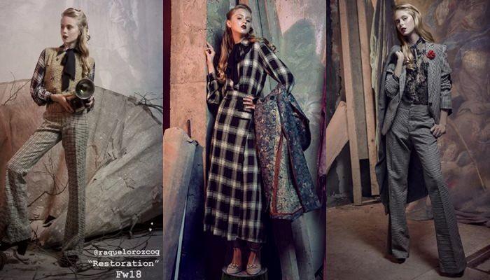 Fotos de Loreto Peralta debutando como modelo