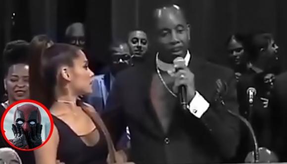 Fue o no intencional la manoseada del Pastor a Ariana Grande