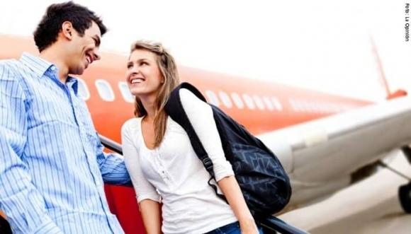 Encuentra el amor de tu vida en un avión. Mira cómo