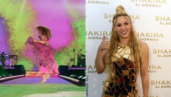 11 mejores vestidos de Shakira... ¡Divinos!