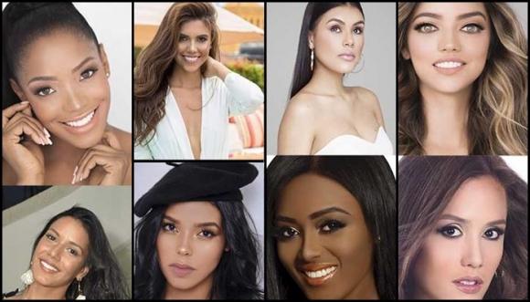 Ellas son las candidatas a Miss Universo Colombia 2018