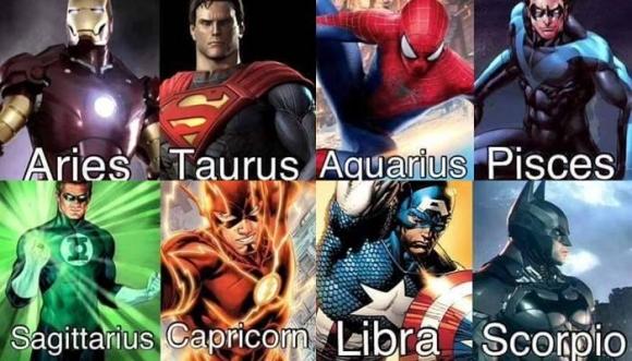 Signos del Zodiaco con alma de superhéroes