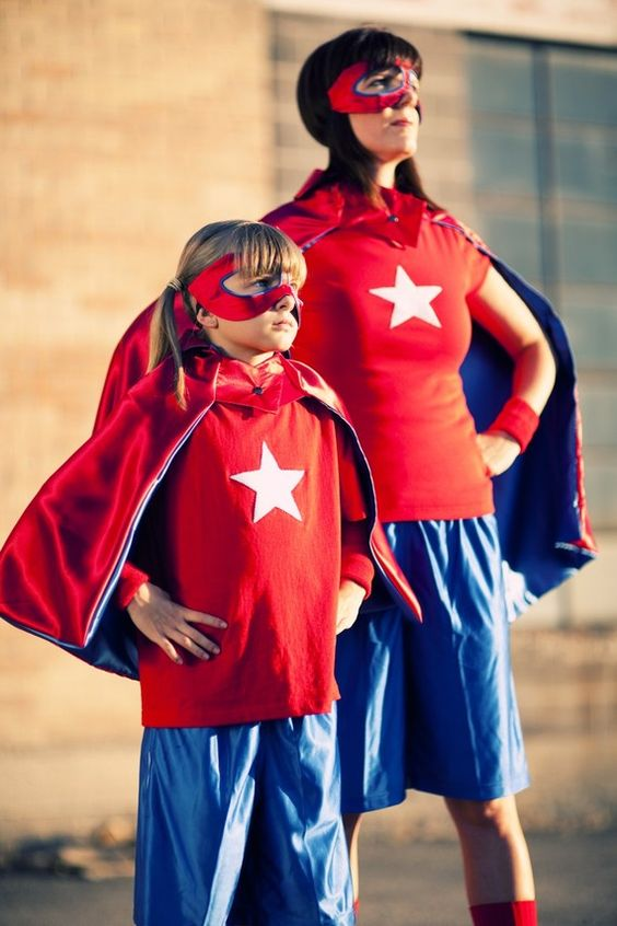 Disfraz de Capitán América versión femenina