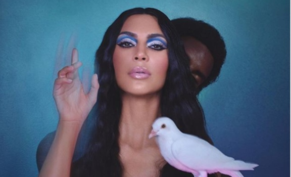 Kim Kardashian es tímida