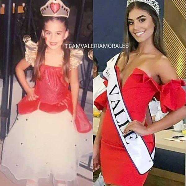 Así lucía Valeria Morales antes de ser reina