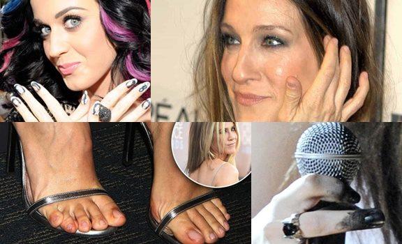 famosas con uñas más feas