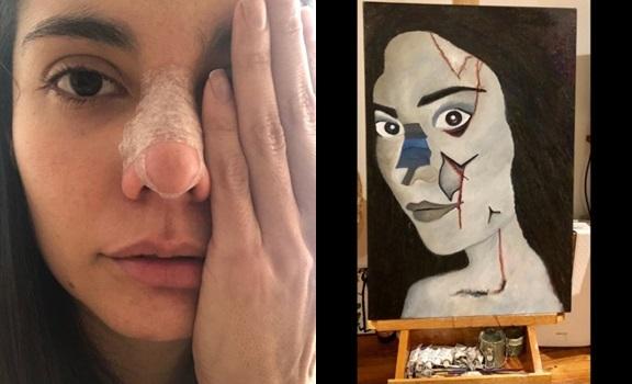El nuevo rostro de Eileen Moreno