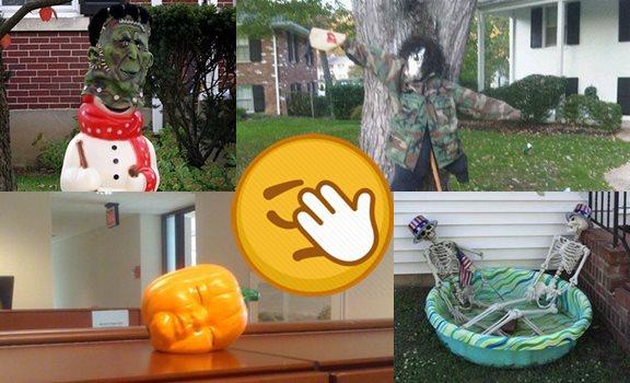 La peor decoración de Halloween de todos los tiempos