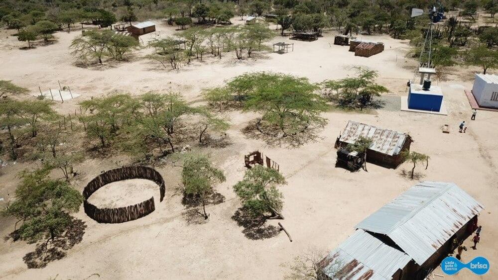 Comunidad de Cardonales en la Guajira