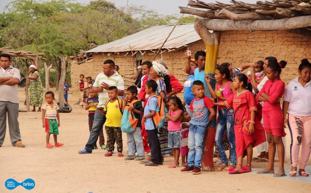 La Comunidad de Cardonales celebra que ya pueden tener agua potable