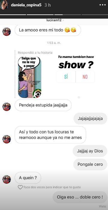 Así fue la respuesta de Lucia la mamá de Daniela en las redes sociales