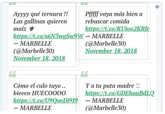 Respuestas de Marbelle a quienes la compararon con una lechona