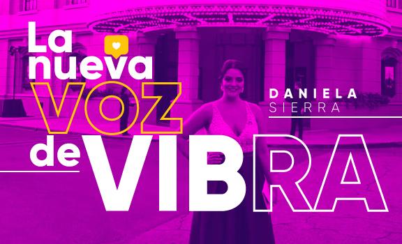 Ella es Daniela Sierra, la nueva voz de Vibra