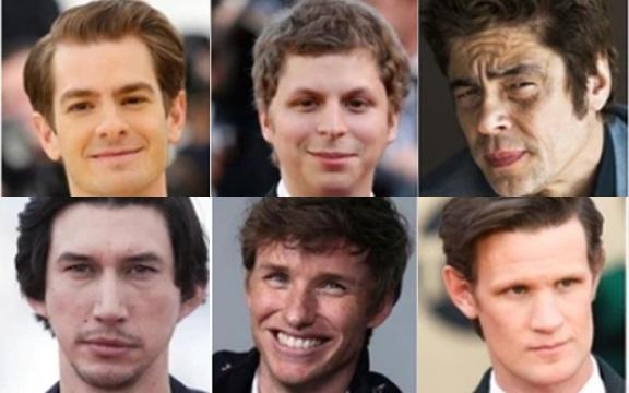 Ellos son los feos más atractivos de Hollywood