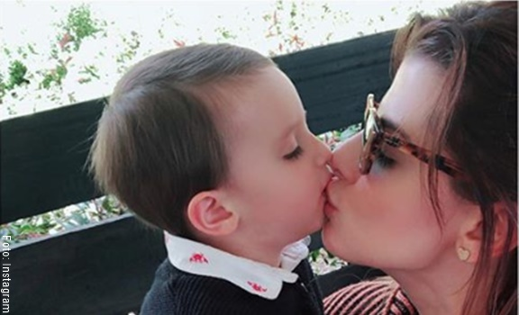Fotos más tiernas del hijo de Carolina Cruz