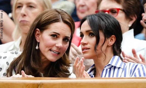 Meghan de Sussex hizo llorar a Kate Middleton por esto